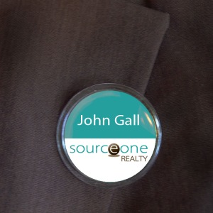 Round Name Tag - SNAP Photo Frame